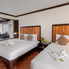 The Spacious Executive Deluxe Rooms